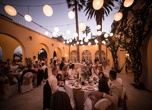 Amazing wedding in villa